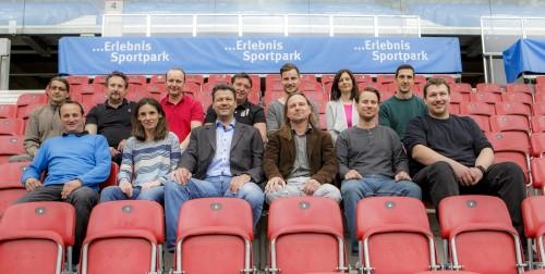 Sport, Sportpark Klagenfurt, Teamshooting.