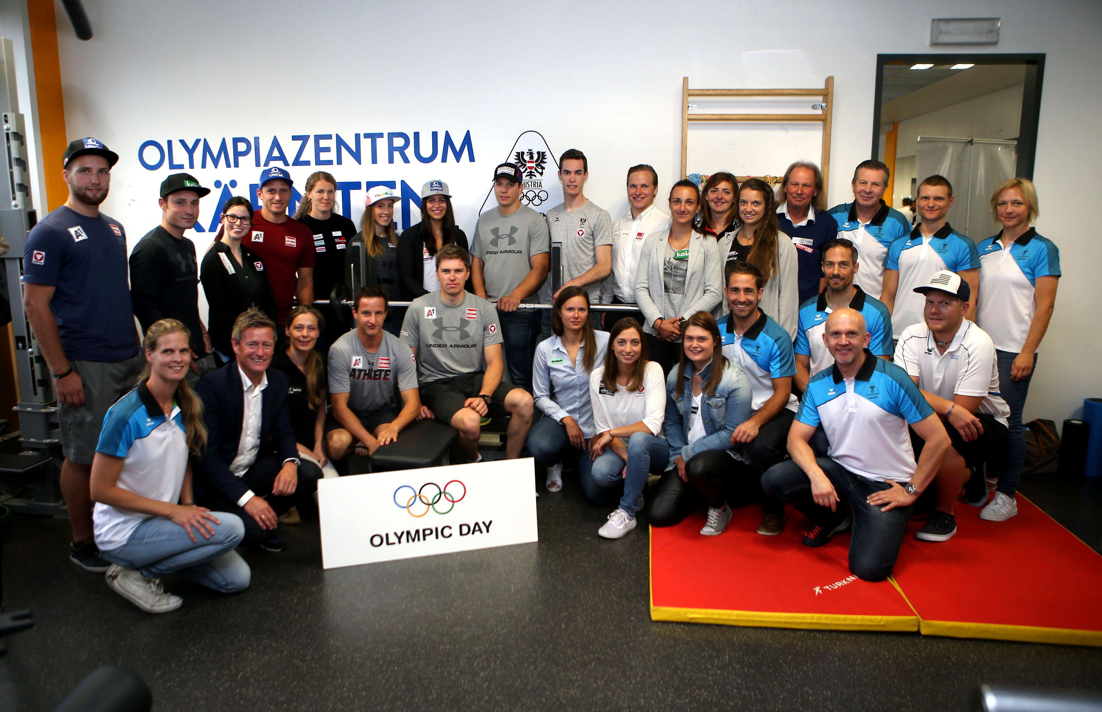 Sportlerfruehstueck. Olympiazentrum.  . Klagenfurt, am 22.6.2018. Foto: Kuess