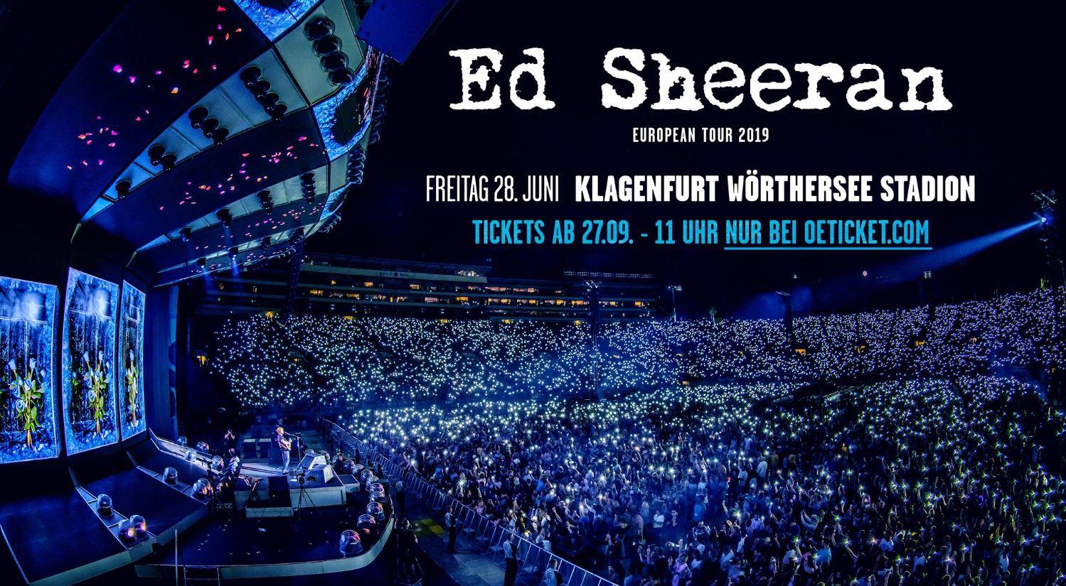 Ed Sheeran im Wörtherseestadion 78fe52b28a