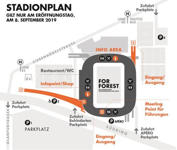 Stadionplan For Forest